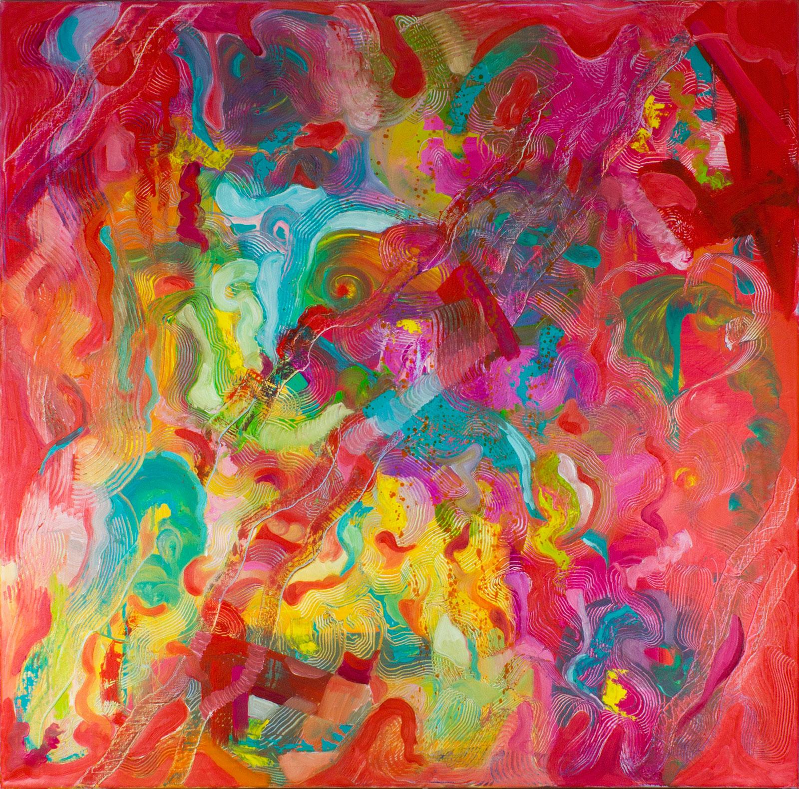 BLUE DEER, Sally Friend, Artist